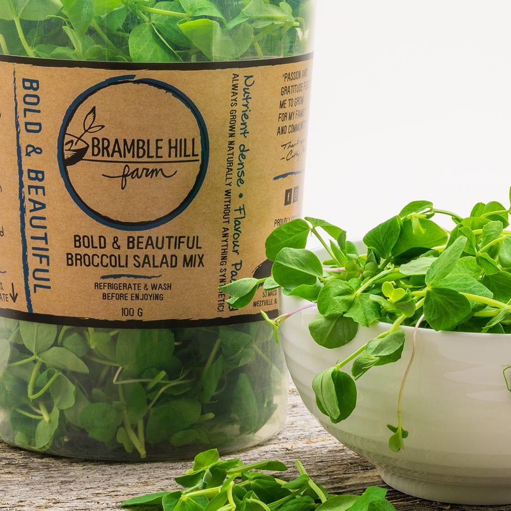 bold and beautiful broccoli mix